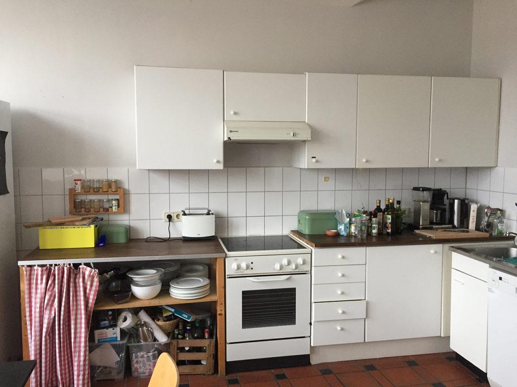 Zustand der alten Küche vor dem Küchenumbau