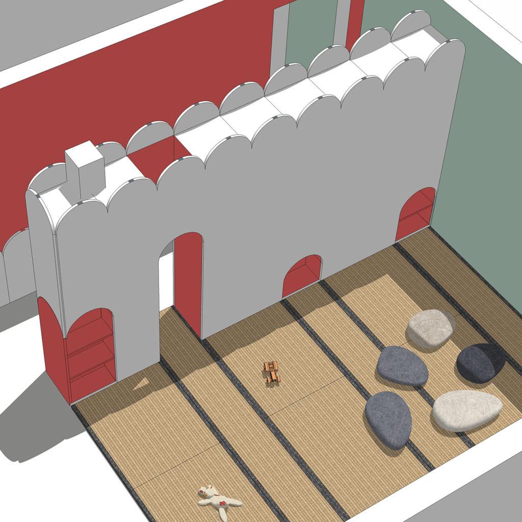 Ein Beispiel bild einer individuellen Raumgestaltung.
